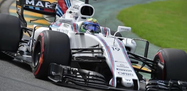 Massa ficou satisfeito por largar em sétimo no GP da Austrália - Paul Crock/AFP