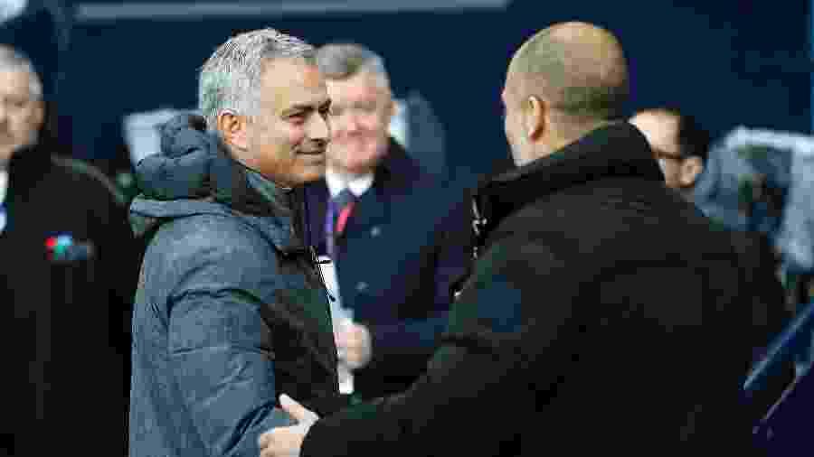 Mourinho e Guardiola se encontraram várias vezes após aquele jogo, de 2010 - Darren Staples/REUTERS