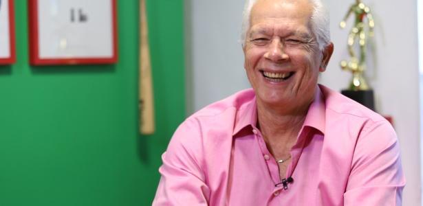 Ex-goleiro Leão foi homenageado na comemoração dos 103 anos do Palmeiras