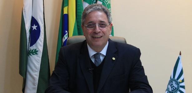 Rogério Bacellar, presidente do Coritiba