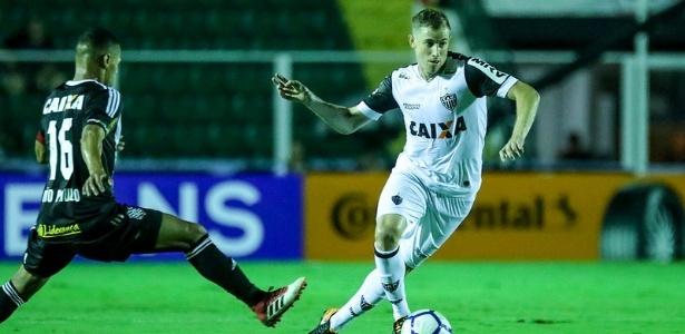 O Atlético-MG do volante Adilson venceu o primeiro jogo com o Figueirense, por 1 a 0