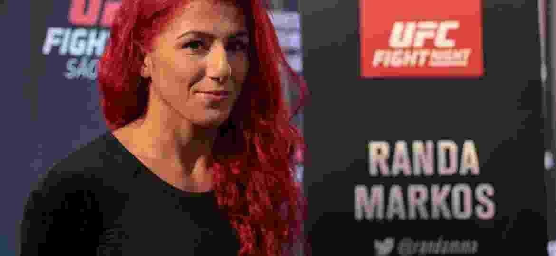 Randa Markos UFC SP - Bruno Riganti/Agif