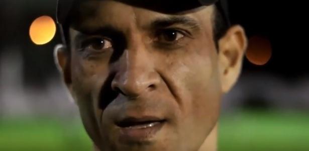 Luisinho Netto defendeu o Furacão nos anos 90 - Reprodução/YouTube