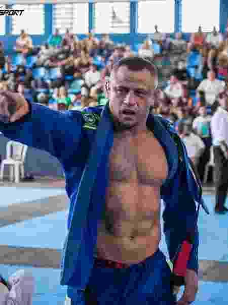 Marlon Sandro foi campeão master do Campeonato Hélio-Gracie de jiu-jitsu no RJ - Marcos Furtado/Flashsport