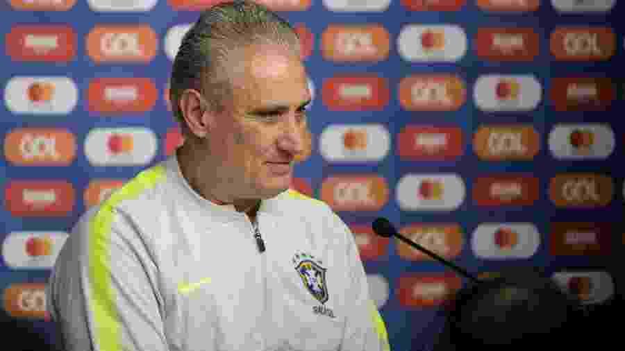 Tite concede entrevista antes de jogo entre Brasil e Argentina - Pedro Martins/Mowa Press