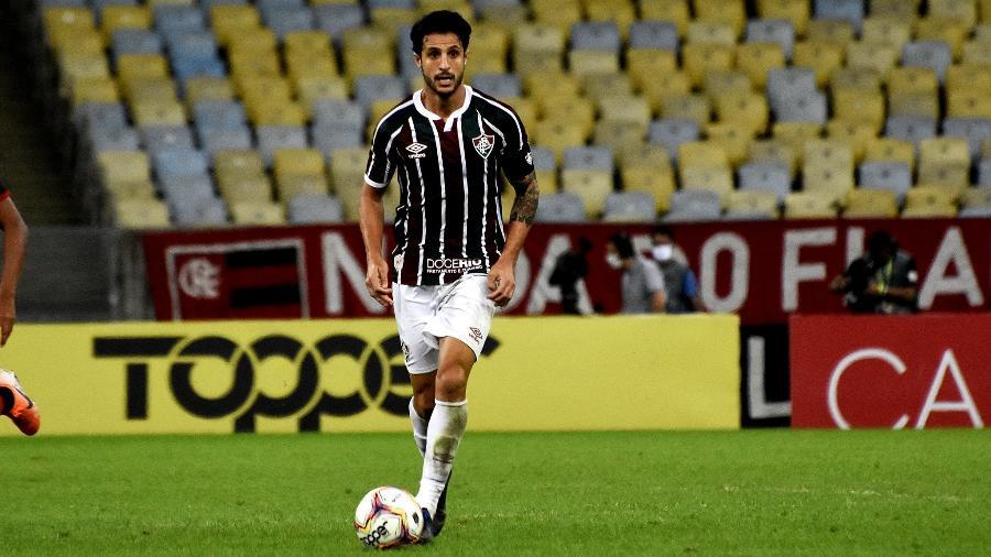 Hudson informou ao Fluminense que se reapresentará ao São Paulo para ser avaliado por Hernán Crespo - Mailson Santana/Fluminense FC