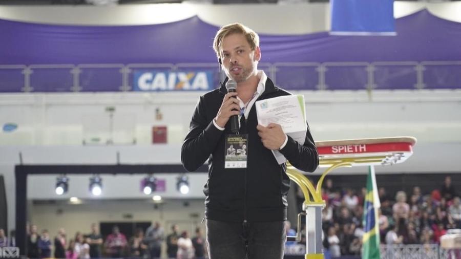 Bruno Chateaubriand, presidente da Federação de Ginástica do Estado do Rio de Janeiro - Divulgação