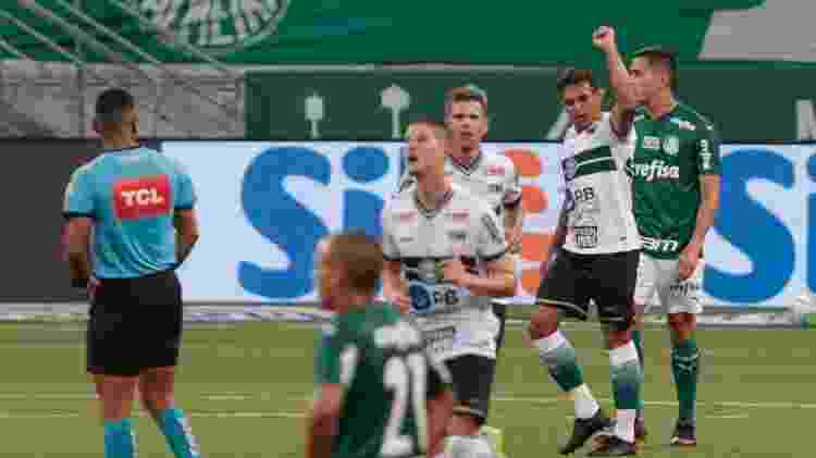 Gol do Coritiba - Marcello Zambrana/AGIF - Marcello Zambrana/AGIF