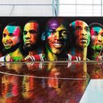Mural de Kobra na quadra de basquete de Neymar - undefined
