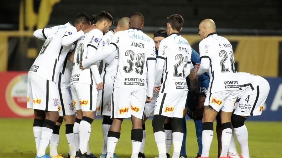 Time do Corinthians teve atuação abaixo da crítica contra o Peñarol - Rodrigo Coca/Agência Corinthians