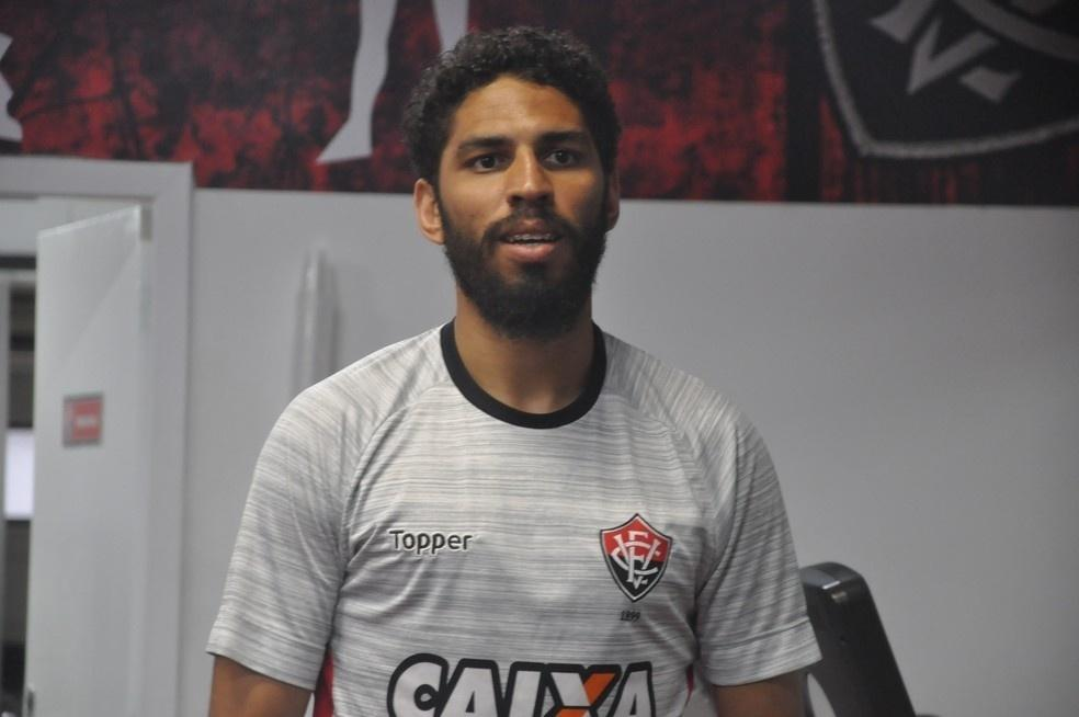 Wallace, zagueiro do Vitória: clube venceu SBT em processo que corria desde 2013