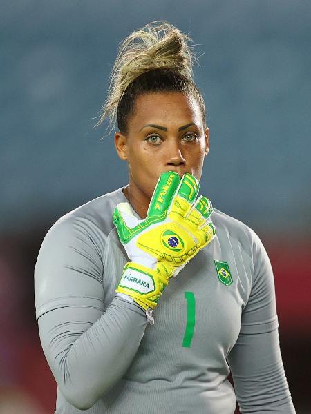 """Bárbara, goleira do Brasil, foi chamada de """"porca"""" por apresentador da TV holandesa.  - Amr Abdallah Dalsh/Reuters"""