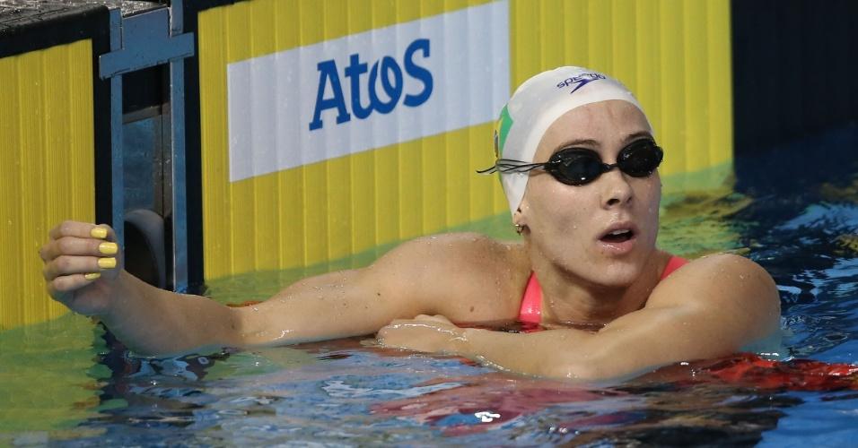 Manuella Lyrio confere sua marca na classificatória dos 200m livres