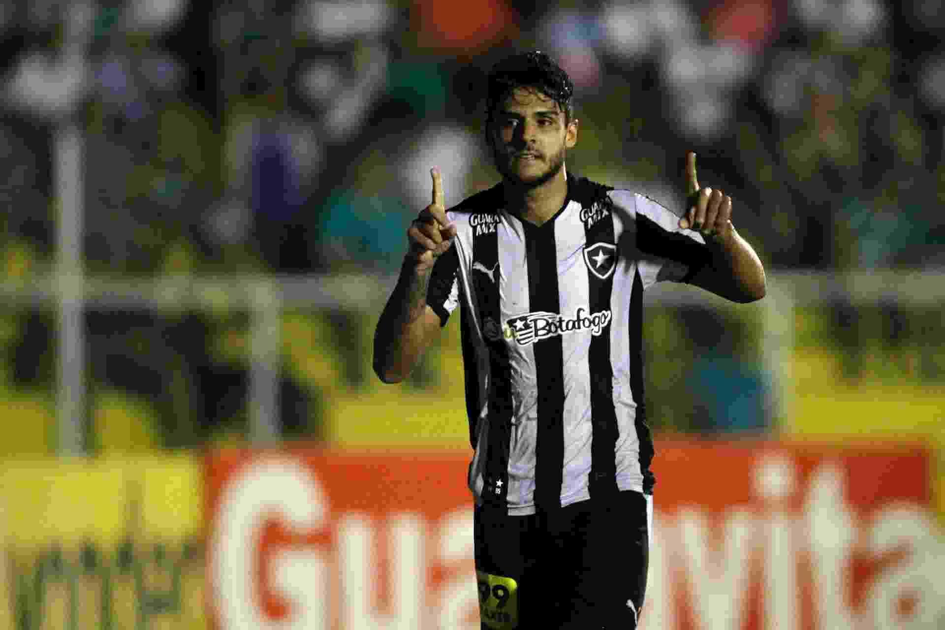 Ronaldo comemora o seu gol pelo Botafogo contra o Luverdense, pela Série B - Vitor Silva / SSPress