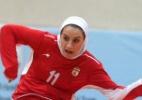 Iraniana é autorizada disputar Mundial de Futsal apesar do veto do marido - AFP PHOTO / ISNA NEWS AGENCY / AMIR KHOLOOSI