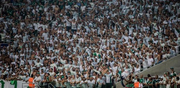 Torcida do Palmeiras em jogo do clube no Allianz Parque