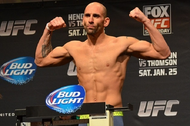 George Sullivan foi retirado de card do UFC