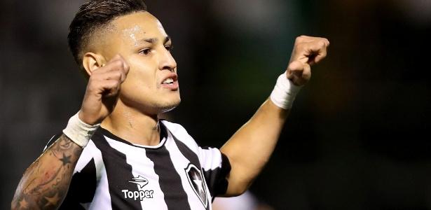 Botafogo tem interesse na permanência de atacante em 2017