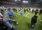 Palmeiras x Peñarol termina em briga generalizada no Uruguai; veja fotos - REUTERS/Andres Stapff