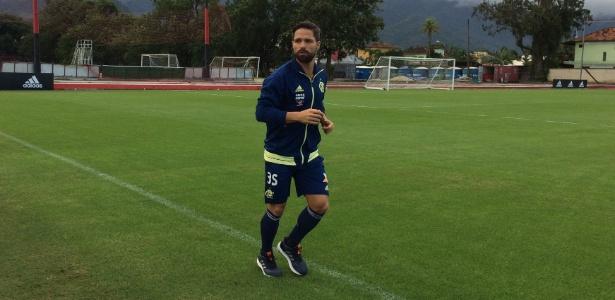 Diego já voltou aos treinamentos do Flamengo