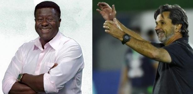 Dionísio e Caio Jr.: ídolos do futebol paranaense
