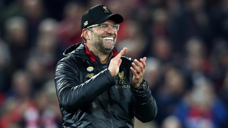 Jurgen Klopp, técnico do Liverpool - Clive Brunskill/Getty Images