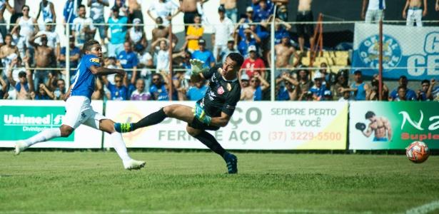 Raniel marcou dois gols na vitória do Cruzeiro sobre o Guarani-MG na tarde deste sábado - Bruno Haddad/Cruzeiro