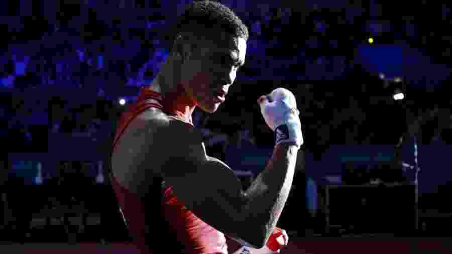 Anthony Ogogo durante a Olimpíada de Londres, em 2012 - Murad Sezer/Reuters