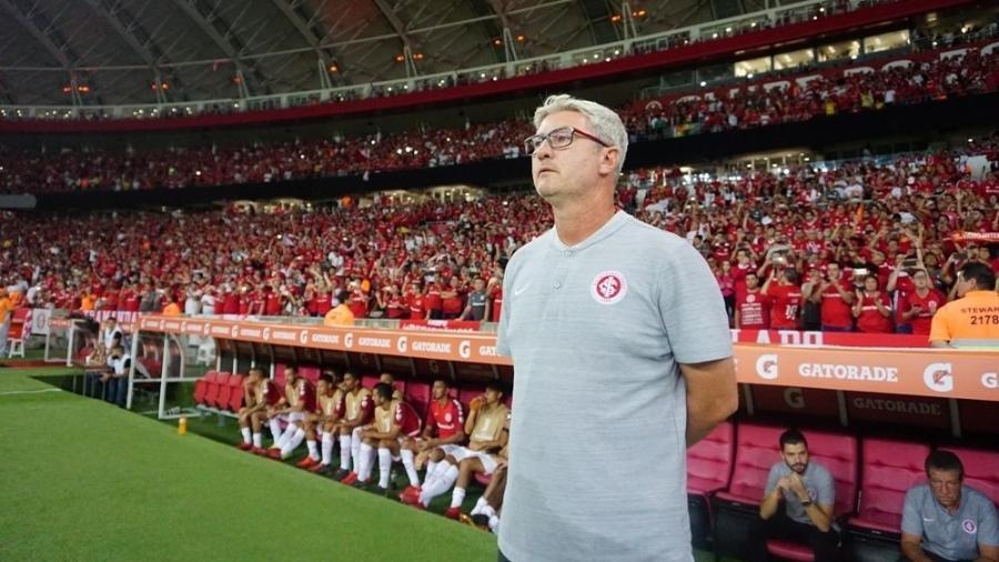 Odair Hellmann comandará o time reserva do Internacional na partida deste domingo - Ricardo Duarte/Internacional