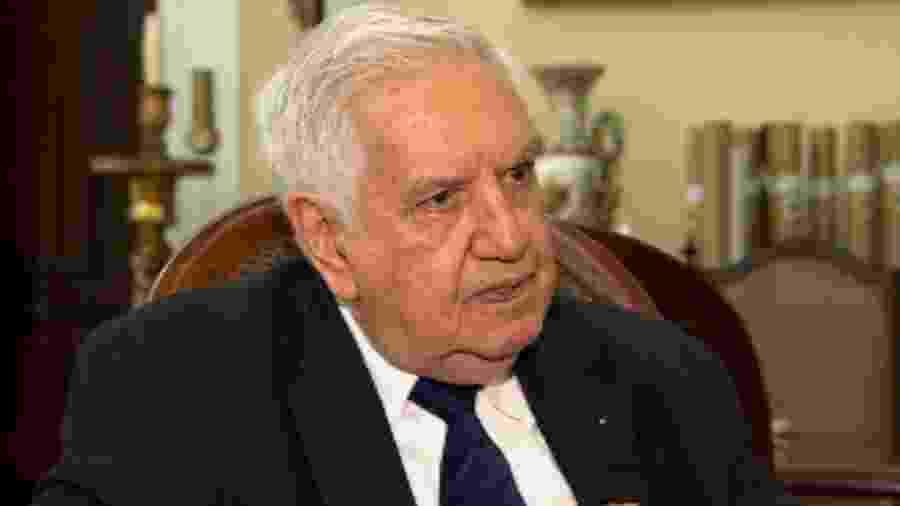 Ex-presidente do Fluminense Francisco Horta sofreu infarto nesta quinta-feira - Reprodução
