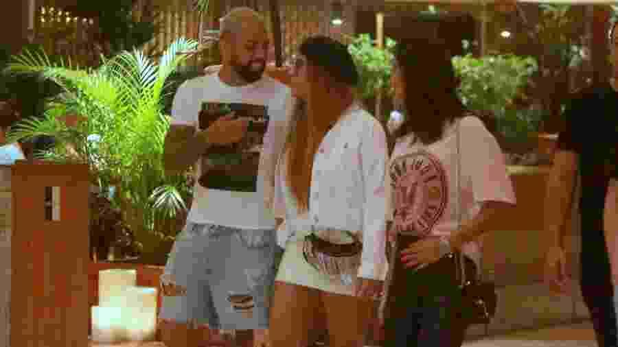 Gabigol e Rafaella Santos deixam restaurante em shopping no Rio de Janeiro - Edson Aipim/AgNews