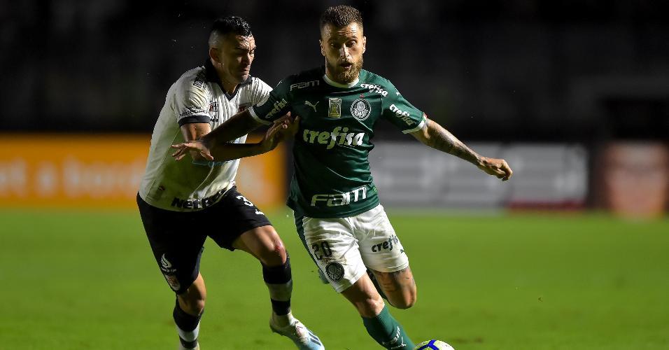 Lucas Lima, durante partida entre Palmeiras e Vasco