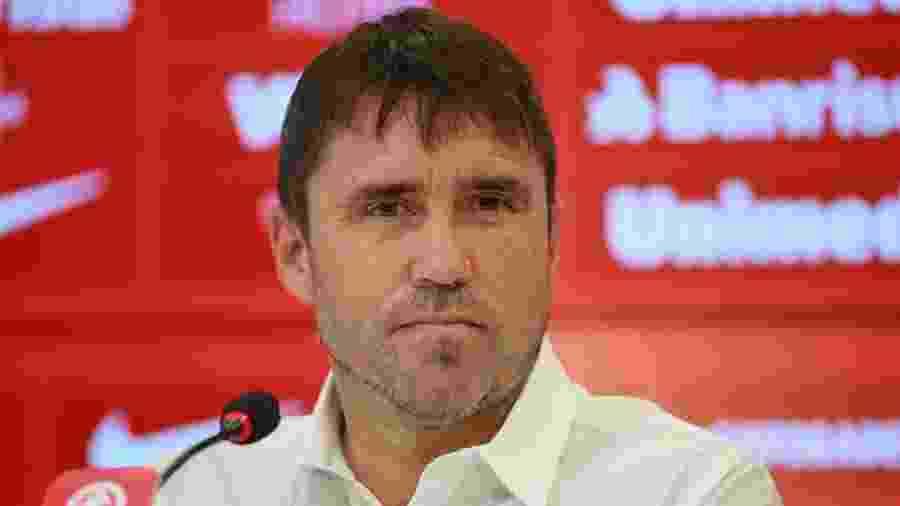 Eduardo Coudet, técnico do Internacional - Diego Vara/Reuters
