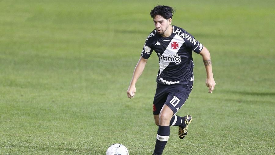 """Martín Benítez foi um dos destaques da vitória do Vasco sobre o Sport e deu duas """"canetas"""" no jogo - Rafael Ribeiro / Vasco"""