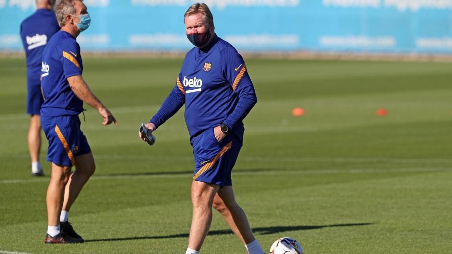 Ex-técnico da seleção holandesa, Koeman conhece bem a dupla de jogadores - Miguel Ruiz/FC Barcelona
