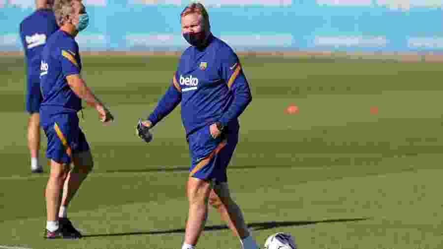Ronald Koeman comanda primeiro treino à frente do Barcelona - Miguel Ruiz/FC Barcelona