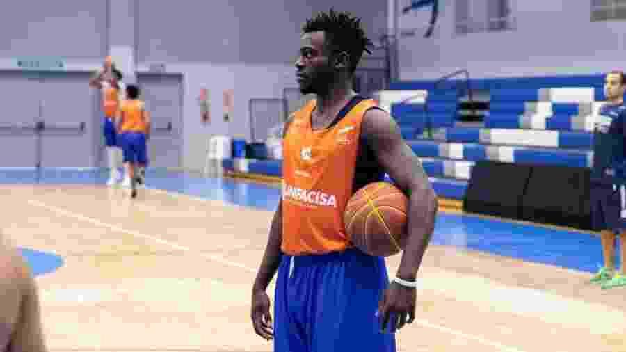 Adrien, jogador camaronês da Unifacisa - Gabriella Tayane/Unifacisa