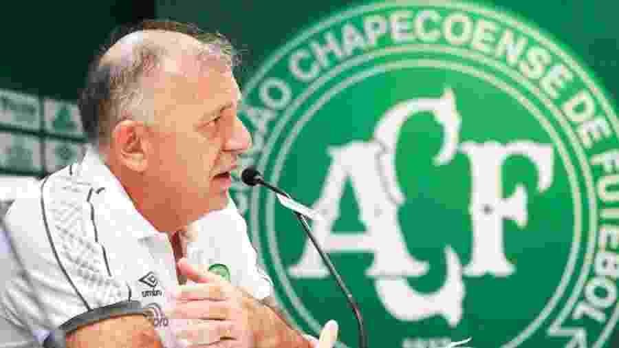 Paulo Magro, presidente da Chapecoense - Márcio Cunha/Chapecoense