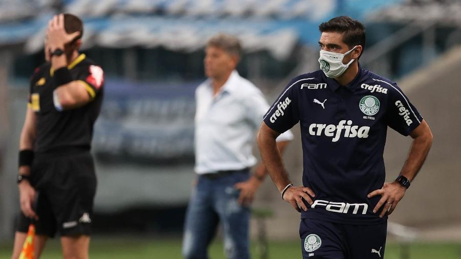Palmeiras de Abel Ferreira venceu o Grêmio de Renato na Copa do Brasil - Divulgação/Cesar Greco/SE Palmeiras