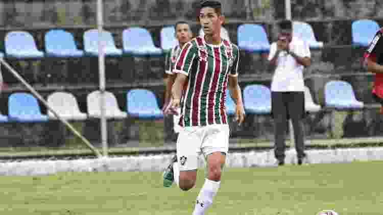 Praxedes começou aos 10 anos na base do Fluminense, e hoje brilha no Internacional - Mailson Santana/Fluminense FC - Mailson Santana/Fluminense FC