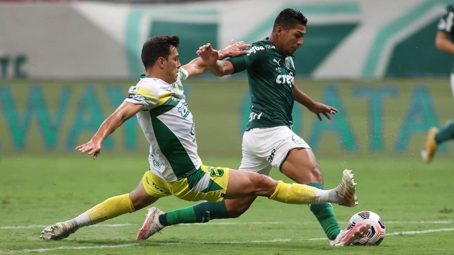Rony, do Palmeiras, durante a partida contra o Defensa y Justicia, pela Recopa Sul-Americana - Cesar Greco / Palmeiras