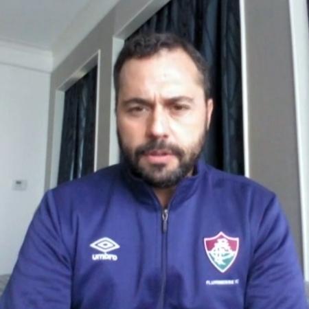Presidente Mário Bittencourt diz que Fluminense entrou na Libertadores para vencer - Reprodução/SporTV