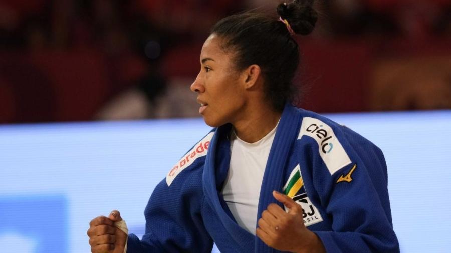 Judoca brasileira Ketleyn Quadros  - Roberto Castro/Rede do Esporte