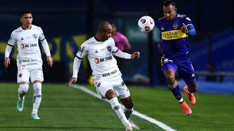 Atlético-MG e Boca Juniors fizeram partida pegada pelas oitavas de final da Libertadores - Divulgação/Conmebol
