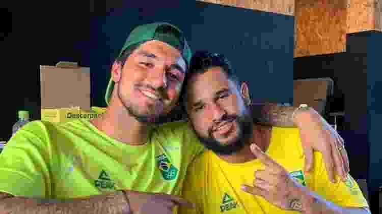 Gabriel medina e Italo Ferreira - Reprodução/Instagram - Reprodução/Instagram