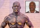 Estátua de Mike Tyson vira alvo de críticas de fãs: 'Nada a ver com ele'