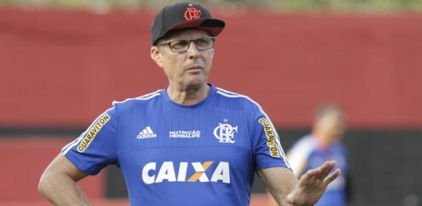 Último trabalho de Oswaldo foi no Flamengo, entre agosto e novembro de 2015