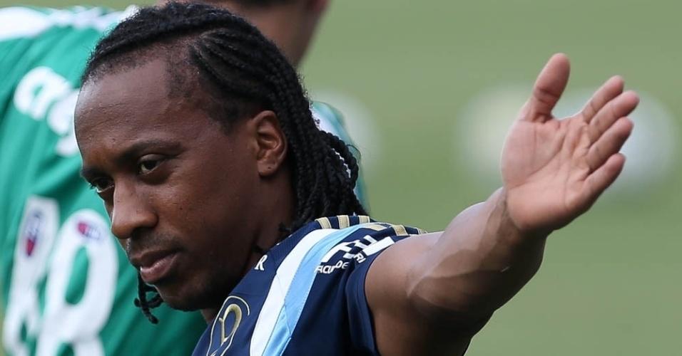 Arouca participa de treino físico na Academia de Futebol do Palmeiras