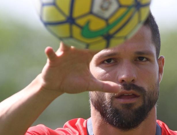 Diego fará o segundo jogo com a camisa do Flamengo, o primeiro ao lado de Guerrero