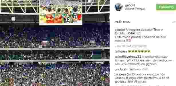 Mensagem Gabriel - Reprodução/Instagram - Reprodução/Instagram